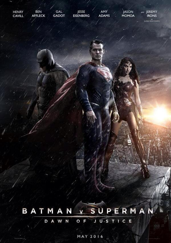 batman vs superman trailer and wonderwoman reveal