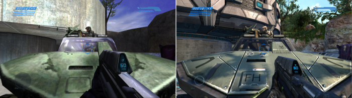 Halo- old vs new