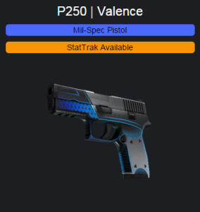 p250 valence