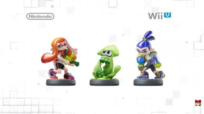 Splatoon amiibo