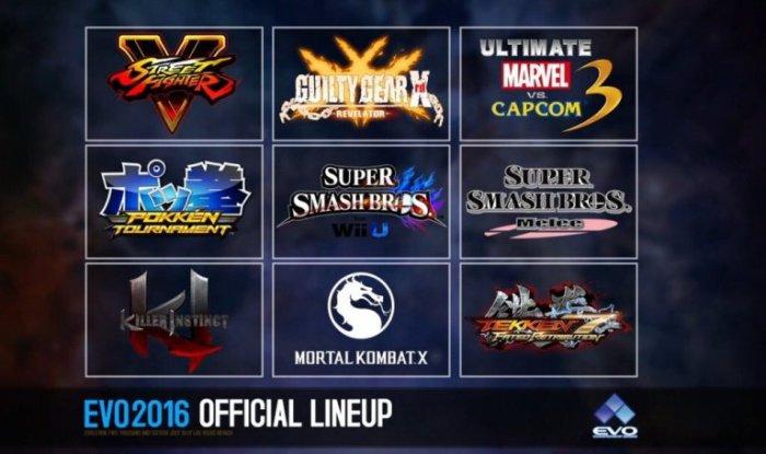 EVO Lineup