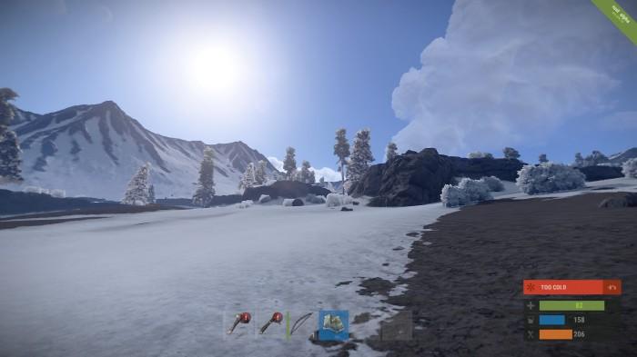 Rust Snow
