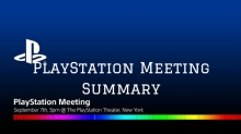PlayStation Meeting Summary